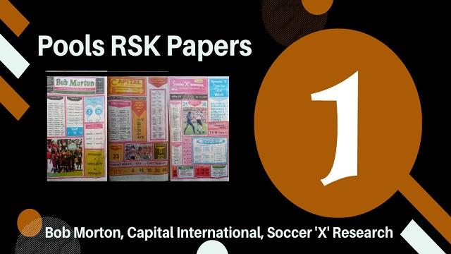 Week 1 Rsk Papers 2020