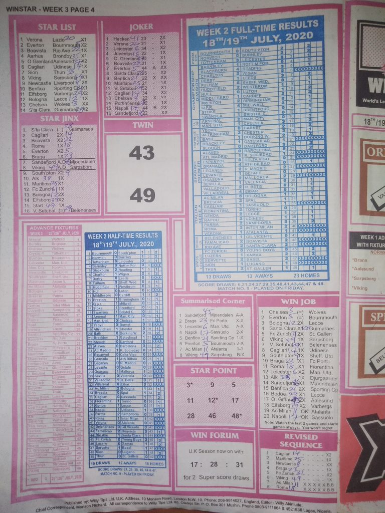 Week 3 Winstar 2020 Page 4