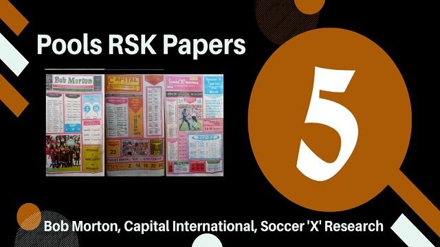Week 5 Rsk Pool Papers 2020