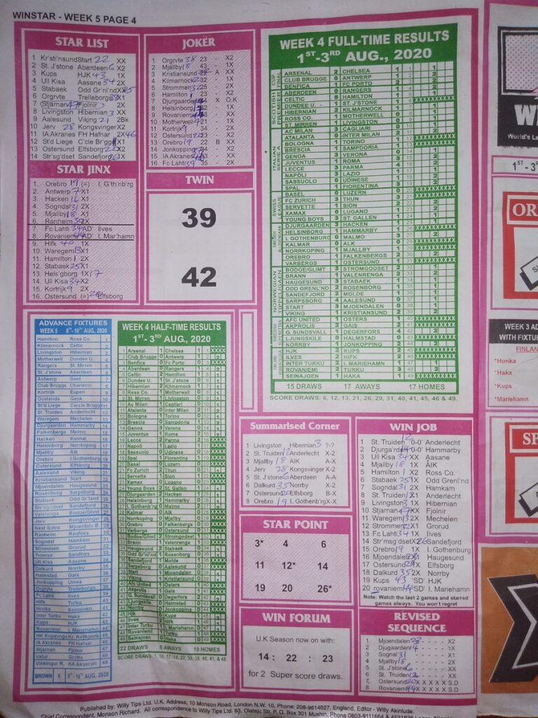 Week 5 Winstar Page 4 2020