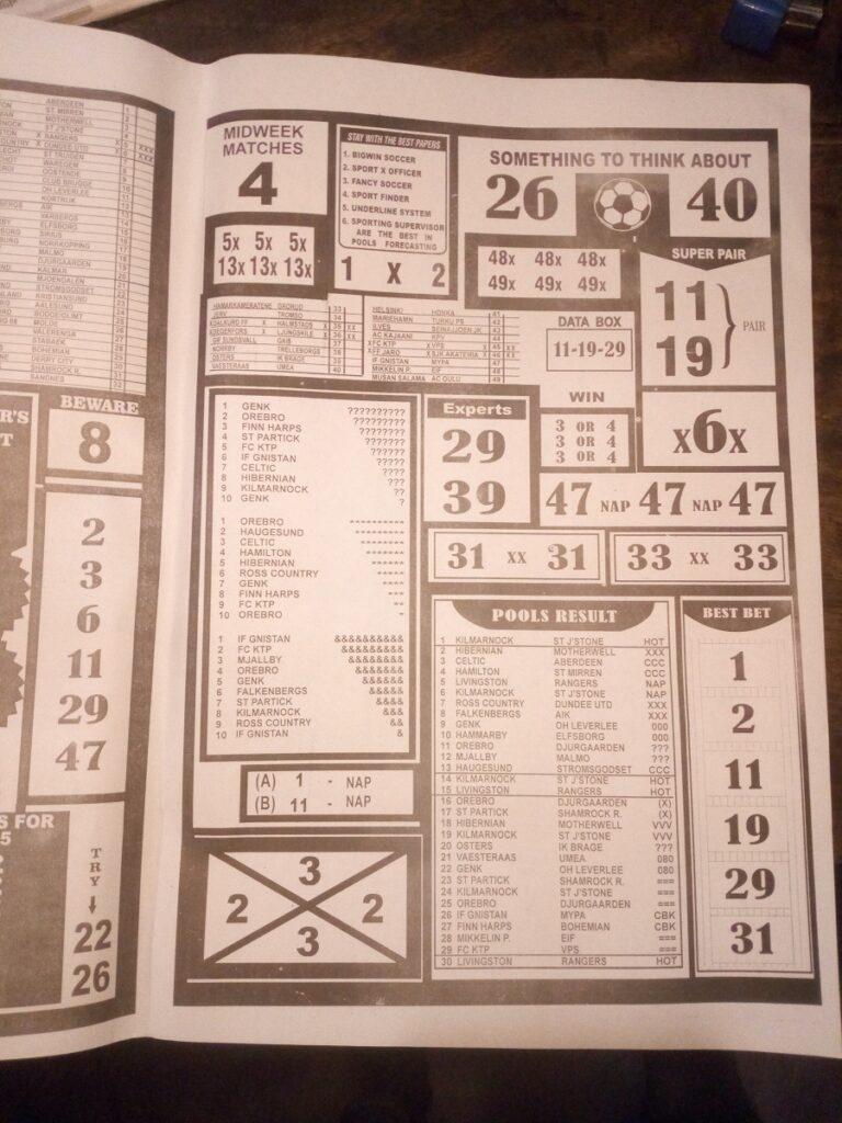 Week 6 Bigwin Soccer Page 2