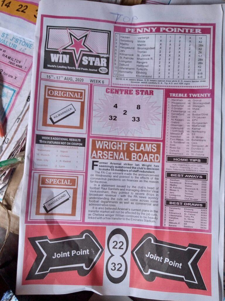 Week 6 Winstar 2020 Page 1