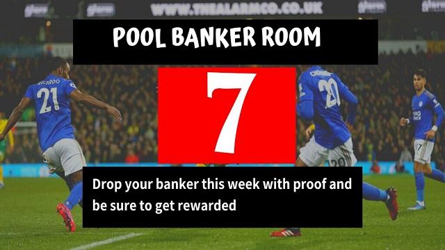Week 7 Banker Room 2020
