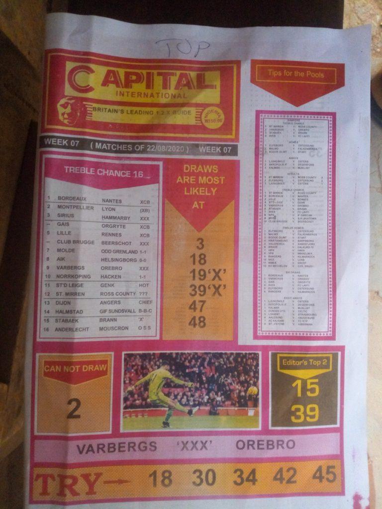 Week 7 Capital International 2020 Page 1