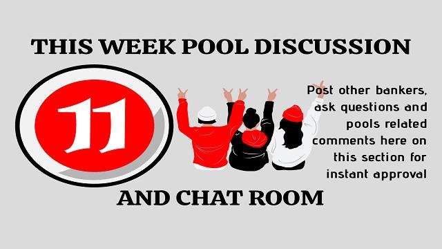 Week 11 Pool Discussion Room 2020