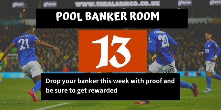 Week 13 Banker Room 2020