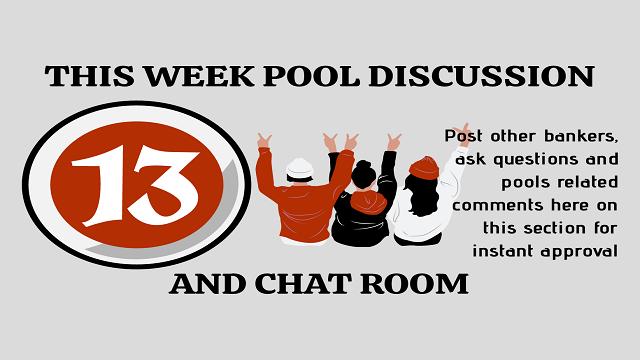 Week 13 Pool Discussion Room 2020