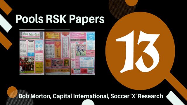 Week 13 Rsk Papers 2020