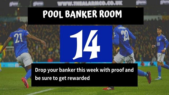 Week 14 Banker Room 2020