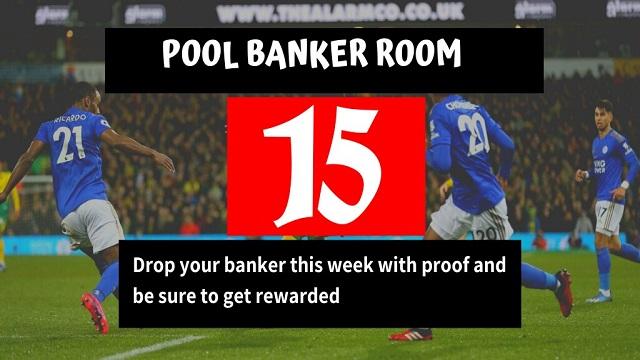 Week 15 Banker Room 2020