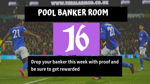 Week 16 Banker Room 2020