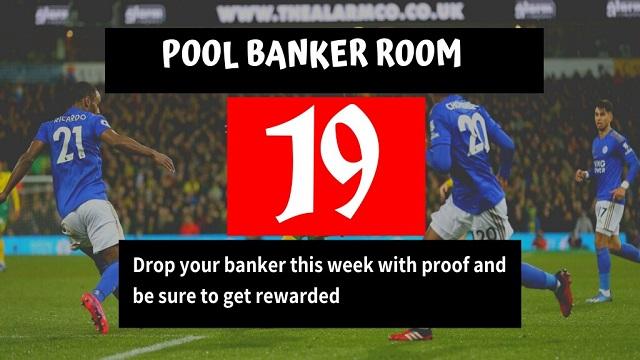 Week 19 Banker Room 2020