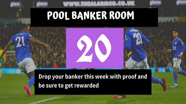 Week 20 Banker Room 2020