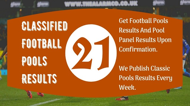 Week 21 Pool Result 2020