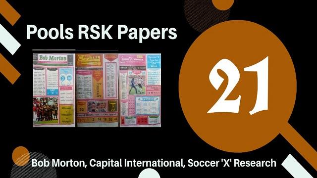 Week 21 Rsk Papers 2020
