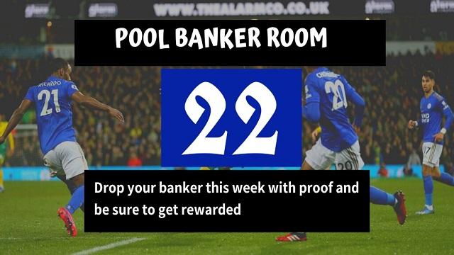 Week 22 Banker Room 2020