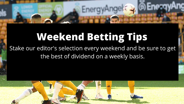 Weekend Betting Tips