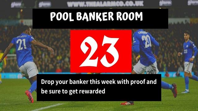 Week 23 Banker Room 2020