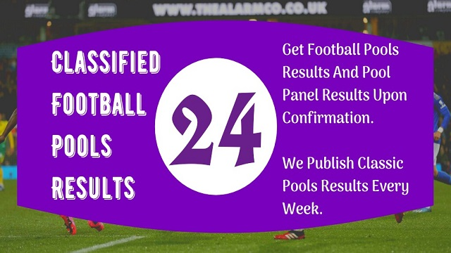 Week 24 Pool Result 2020