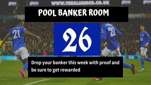 Week 26 Banker Room 2021