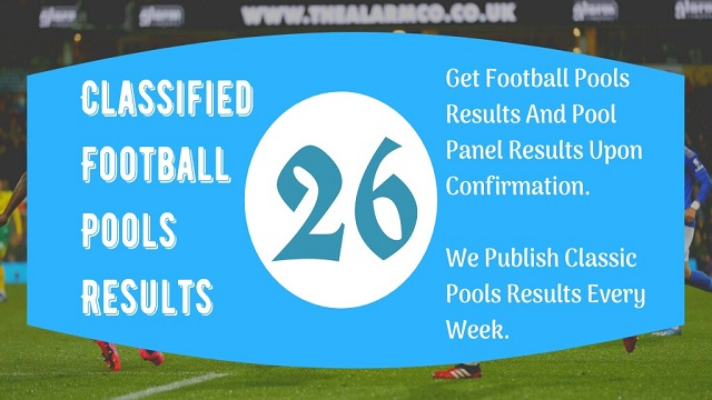 Week 26 Pool Result 2021