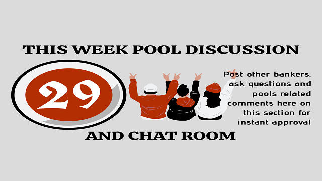 Week 29 Discussion Room 2021