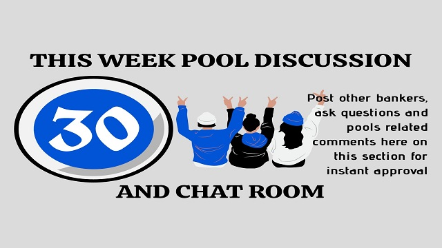 Week 30 Discussion Room 2021