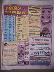 Week 30 Pools Telegraph 2021 Page 1