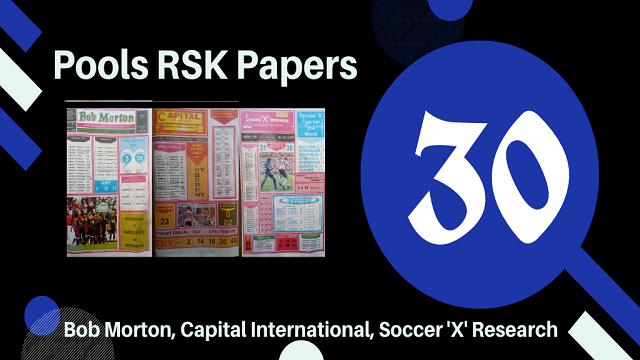 Week 30 Rsk Papers 2021