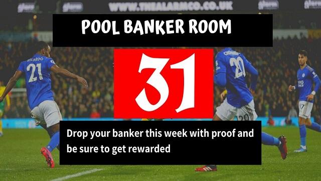 Week 31 Banker Room 2021