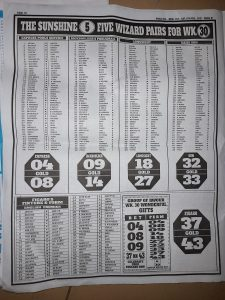 Week 31 Pools Telegraph 2021 Page 10