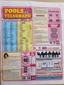 week 25 pools telegraph 2021 page 1
