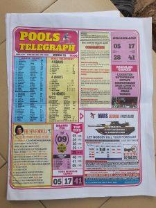 Week 32 Pools Telegraph 2021 Page 1
