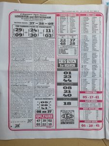 Week 32 Pools Telegraph 2021 Page 2