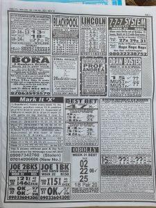 Week 32 Pools Telegraph 2021 Page 3