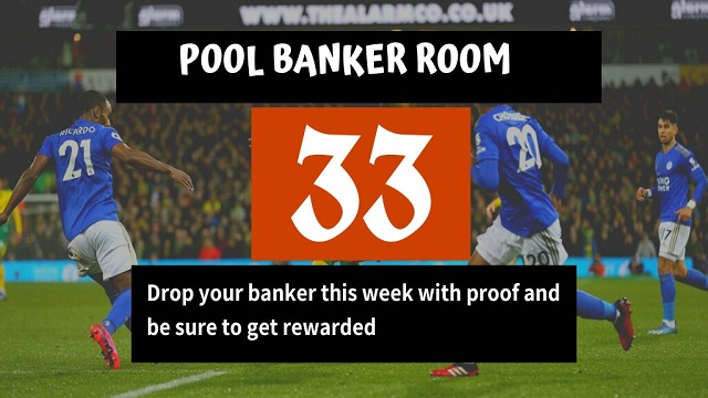 week 33 banker room 2021