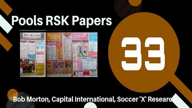 week 33 rsk papers 2021
