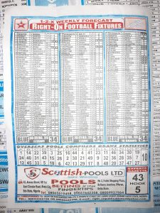 week 34 right on fixtures 2021 back page