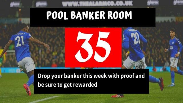week 35 banker room 2021