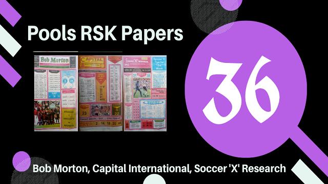 week 36 rsk papers 2021