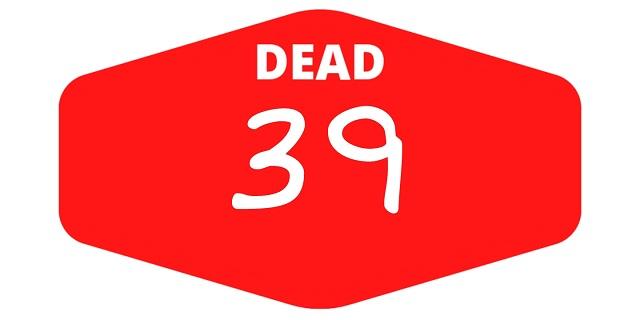 week 39 dead games 2021