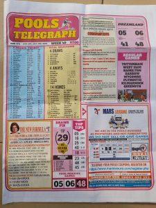 week 40 pools telegraph page 1
