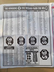 week 40 pools telegraph page 12