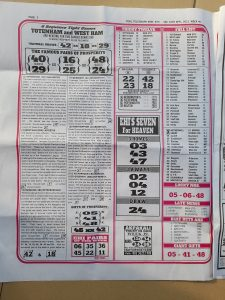 week 40 pools telegraph page 2