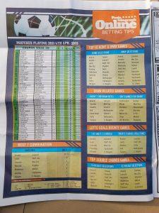 week 40 pools telegraph page 8
