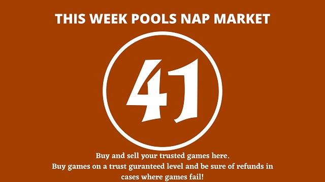 week 41 pool nap market 2021