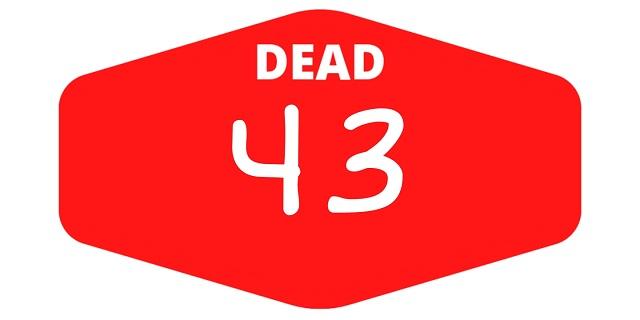 week 43 dead games 2021