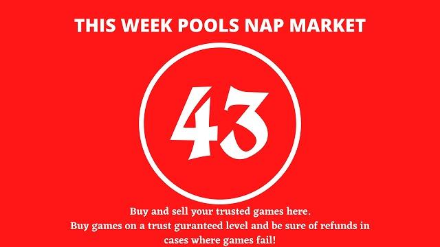 week 43 pool nap market 2021