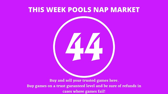 week 44 pool nap market 2021