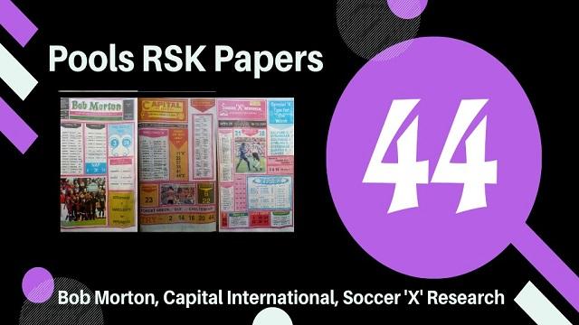 week 44 rsk papers 2021